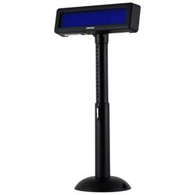 visor-posiflex-vfd-fluorescente-2x20-usb-negro
