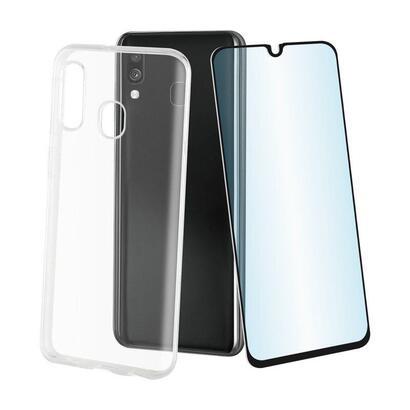 pack-muvit-mupak0431-para-samsung-galaxy-a40-funda-cristal-soft-transparente-protector-vidrio-templado-marco-negro