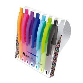 estuche-7-boligrafos-milan-mini-p1-touch-colours-punta-1mm-colores-surtidos-102171-cm-o