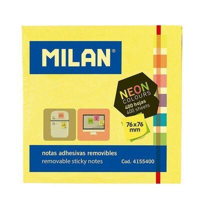 bloc-400-notas-adhesivas-milan-4155400-6-colores-neon-7676mm