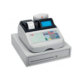 registradora-olivetti-ecr-8220-profesional-display-lcd-grafico-teclado-plano-99-departamentos
