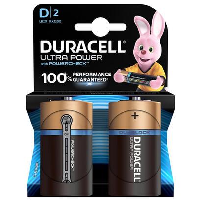 duracell-pilas-ultra-power-alcalino-cilandrico-15-v-2-piezas-d-negro