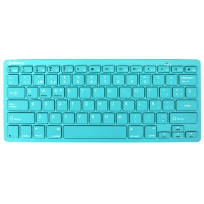 silver-sanz-teclado-inalambrico-bluetooth-turquesa