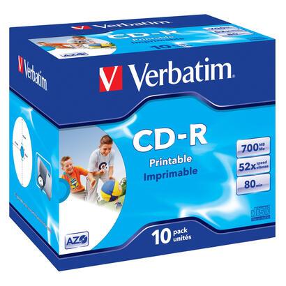 verbatim-cd-rom-imprimibles-superazo-wide-print-surface-id-52x-700mb-10-unidades