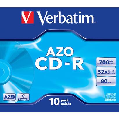 verbatim-cd-rom-superazo-crystal-surface-52x-700mb-10-unidades