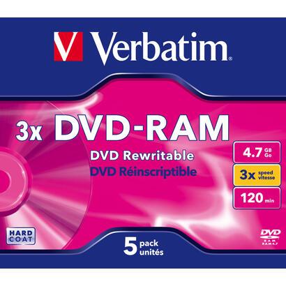 verbatim-dvd-ram-3x-47-gb-5-piezas-43450