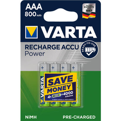 varta-pilas-recargables-aaa-800mah-pack-4-blx4-aaa-800mah-varta-ready-to-use