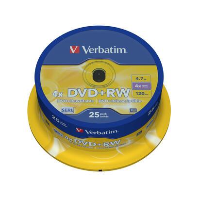 verbatim-dvdrw-matt-silver-47-gb-25-piezas-43489