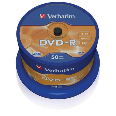 verbatim-dvd-r-16x-470-gb-tarrina-50-43548-4