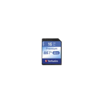 verbatim-premium-secure-digital-16gb-sdhc-clase-10-43962