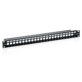 equip-patch-panel-vacio-cat6-apantallado-24-puertos-keystone-1u