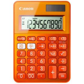 canon-ls-100k-calculadora-de-sobremesa-10-digitos-panel-solar-bateria-naranja