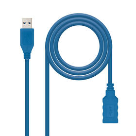nanocable-cable-usb-30-tipo-am-ah-azul-20-m
