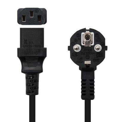 nanocable-cable-de-alimentacion-schuco-a-c13-5m-negro-10220105