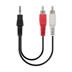 nanocable-cable-audio-estereo-jack-35-a-2xrca-mm-5m-negro-10240305