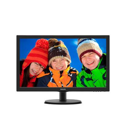 philips-monitor-215-v-line-223v5lhsb-led-fullhd5ms10m1250cdm2-vgahdmi-vesa-100x100negro