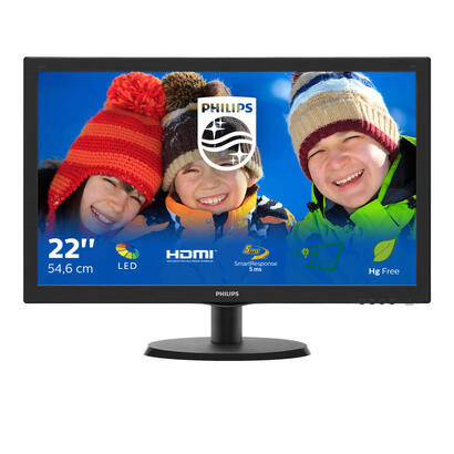 philips-monitor-215-v-line-223v5lhsb2-ledvgahdmifullhd5ms10m1200cdm2