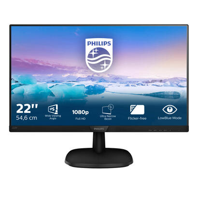 monitor-philips-215-223v7qhab-mm-1920x1080vga-hdmi5ms-gtg60hz-altavoces-2x2winclinable-vesa-100x100mm