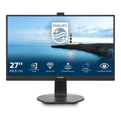 philips-monitor-27-brilliance-b-line-272b7qptkeb-ips-2560-x-1440-10001-5-ms-hdmi-vga-displayport-mini-displayport-altavoces-negr