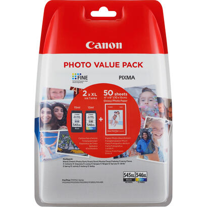 canon-pg-545-xlcl-546xl-photo-value-pack-paquete-de-2-alto-rendimiento-negro-color