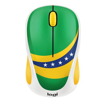 logitech-raton-inalambrico-m238-fan-collection-brasilalcance-10-metros1000dpi3-botonesreceptor-usb1xaa