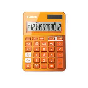 canon-calculadora-escritorio-basica-naranja-ls-123k