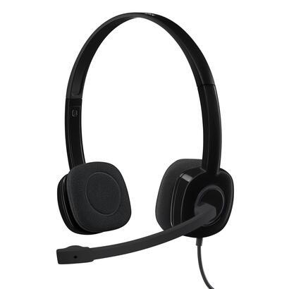 logitech-auriculares-con-microfono-h151-negro