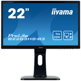 monitor-iiyama-215-prolite-b2283hs-b31920-x-1080-fhd-tn250-cdm100011-mshdmi-vga-displayportaltavocesnegro