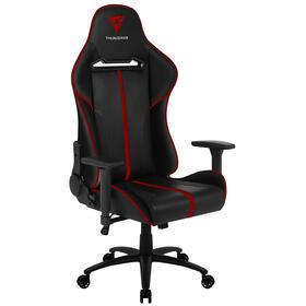 thunderx3-silla-gamer-bc5br-color-negro-con-detalles-en-rojo-asiento-reclinable-hidraulico-hasta-150kg-ruedas-de-65mm