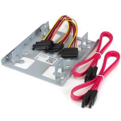 startech-adaptador-para-2-hdd-ssd-25-en-bahia-de-351-bracket25x2
