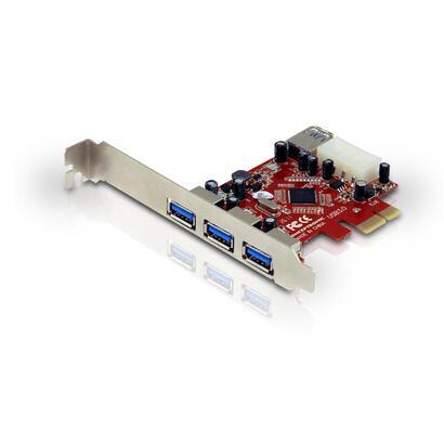 conceptronic-controladora-usb-30-por-pci-expres-3-puertos-externos-y-1-interno-c05-138