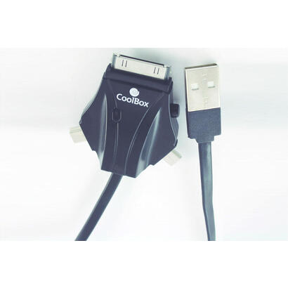 coolbox-cable-transmision-de-datos-acd301-usb-a-usbminiusbmicroiphone-30pin