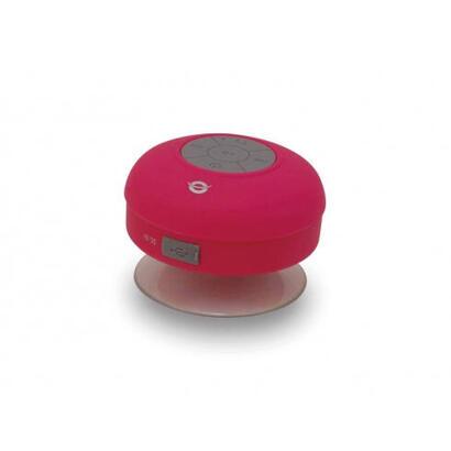 conceptronic-altavoz-inalambrico-impermeable-cspkbtwpsucp-rosa-con-ventosa-bt30
