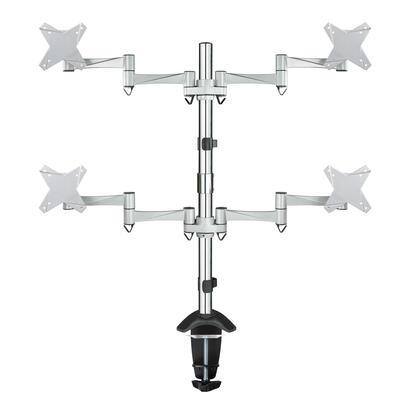tooq-soporte-de-mesa-giratorio-e-inclinable-para-monitor-tv-lcd-plasma-3-pivotes-4-brazos-de-13-23-plata