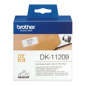 brother-dk-11209negro-sobre-blanco800-etiquetas-de-direccionespara-brother-ql-1050-1060-500-550-560-570-580-650-700-710-720-820