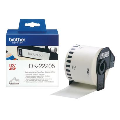 brother-compatible-cinta-de-papel-continuo-dk22205-blanca-62mm-ancho-x-3040mm-longitud-compatible-con-ql-500q