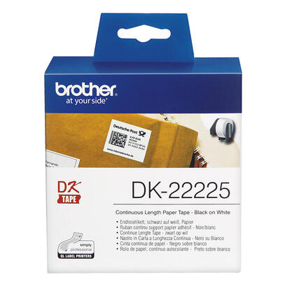brother-dk-22225papelnegro-sobre-blancorollo-38-cm-x-305-m-1-bobinas-etiquetas-continuaspara-brother-ql-1050-ql-1060-ql-500-ql-5