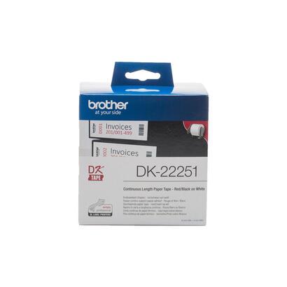 brother-dk-22251negrorojo-sobre-blancorollo-62-cm-x-1524-m-1-bobinas-papel-continuo-de-etiqueta