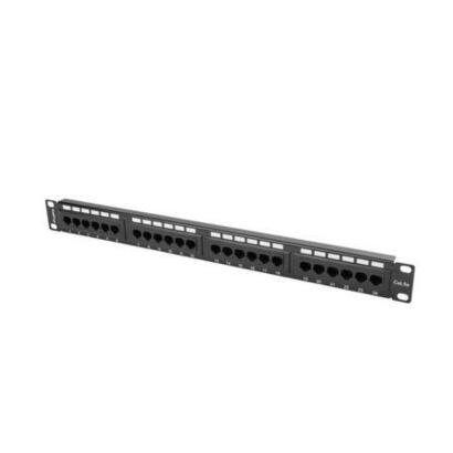 lanberg-patch-panel-ppu5-1024-b-24-puertos-categoria-5e-191-1u-negro
