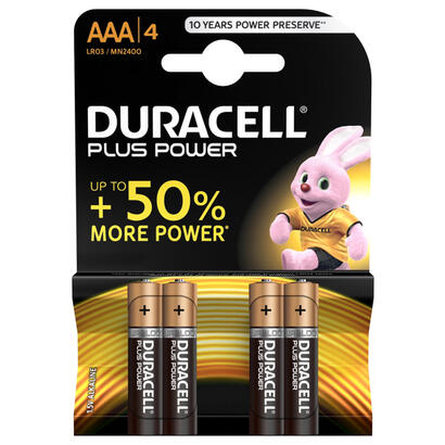 duracell-pack-de-4-pilas-plus-power-lr03-15v-alcalina-aaa