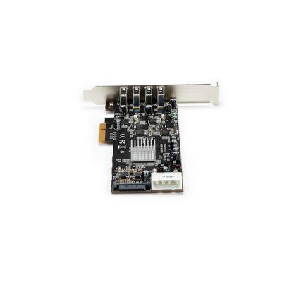 startech-tarjeta-pci-express-4-puertos-usb-30-uasp-2-canales-de-5gbps-pexusb3s44v
