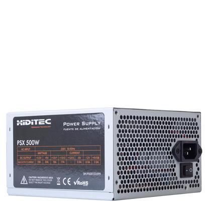 hiditec-fuente-alimentacion-500w-oem-204pins-2xsata-2xide-vent-12x12