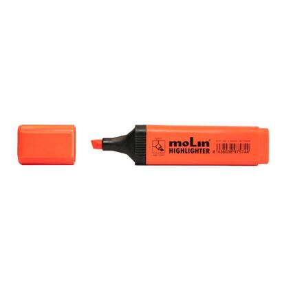 molin-marcador-fluorescente-rectangular-naranja