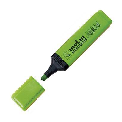 molin-marcador-fluorescente-rectangular-verde