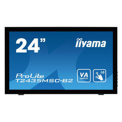 monitor-iiyama-2361-t2435msc-b2-multitouch-6msdvihdmidpaltavocesusb