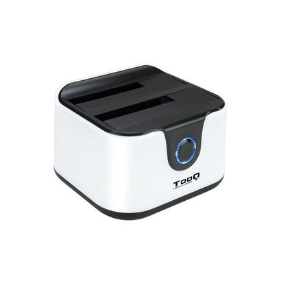 tooq-dock-station-doble-bahia-hdd-tqds-802bw-blanca