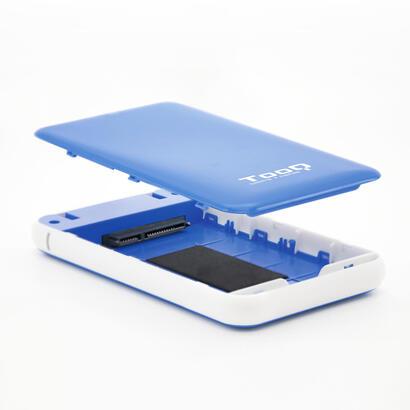 tooq-caja-externa-tqe-2528bl-25-95-mm-sata-usb-31-gen1-azul