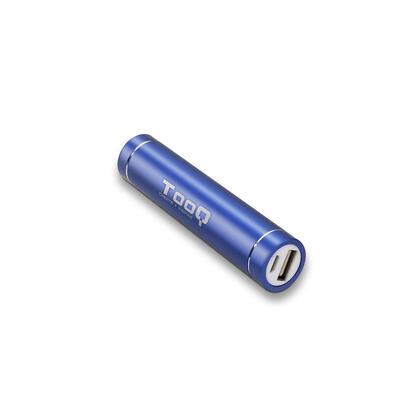 tooq-powerbank-2600mah-1usb-5v1a-aluminio-azul