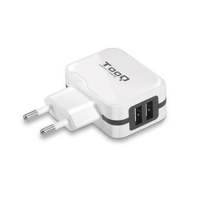tooq-cargador-pared-2xusb-34-atotal-ai-tech-blanco-tqwc-1s02wt