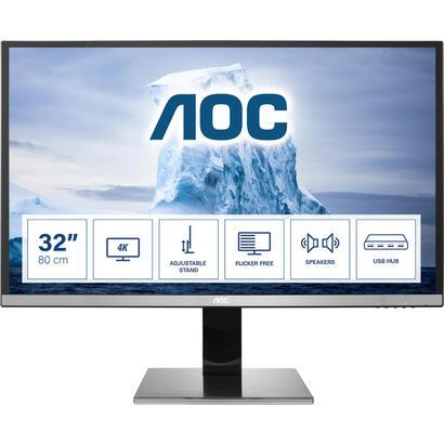 monitor-aoc-315-u3277pwqu-led31513840x21604k169350cdm280m14msvgahdmidvi